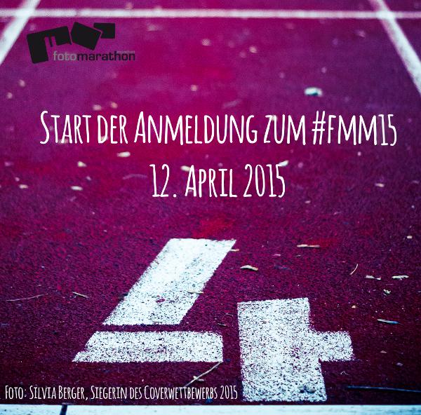 Die Anmeldung für den 4. Fotomarathon München …