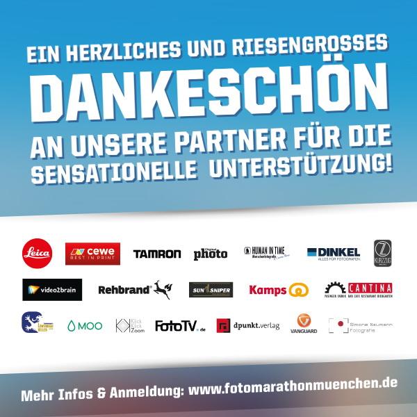 Fotomarathon München 2016 - Unsere Partner