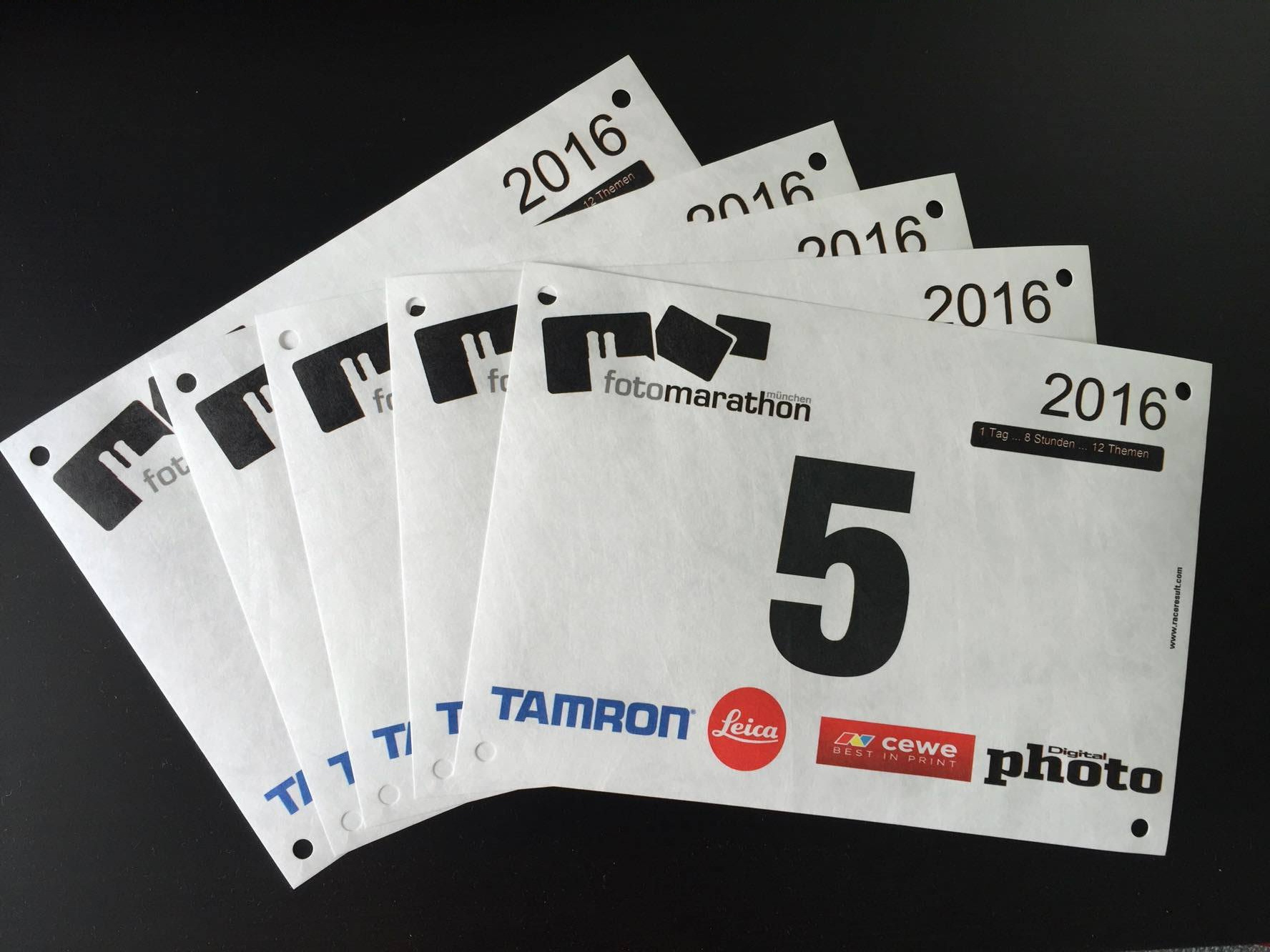 Alle gültigen Serien des Fotomarathons 2016