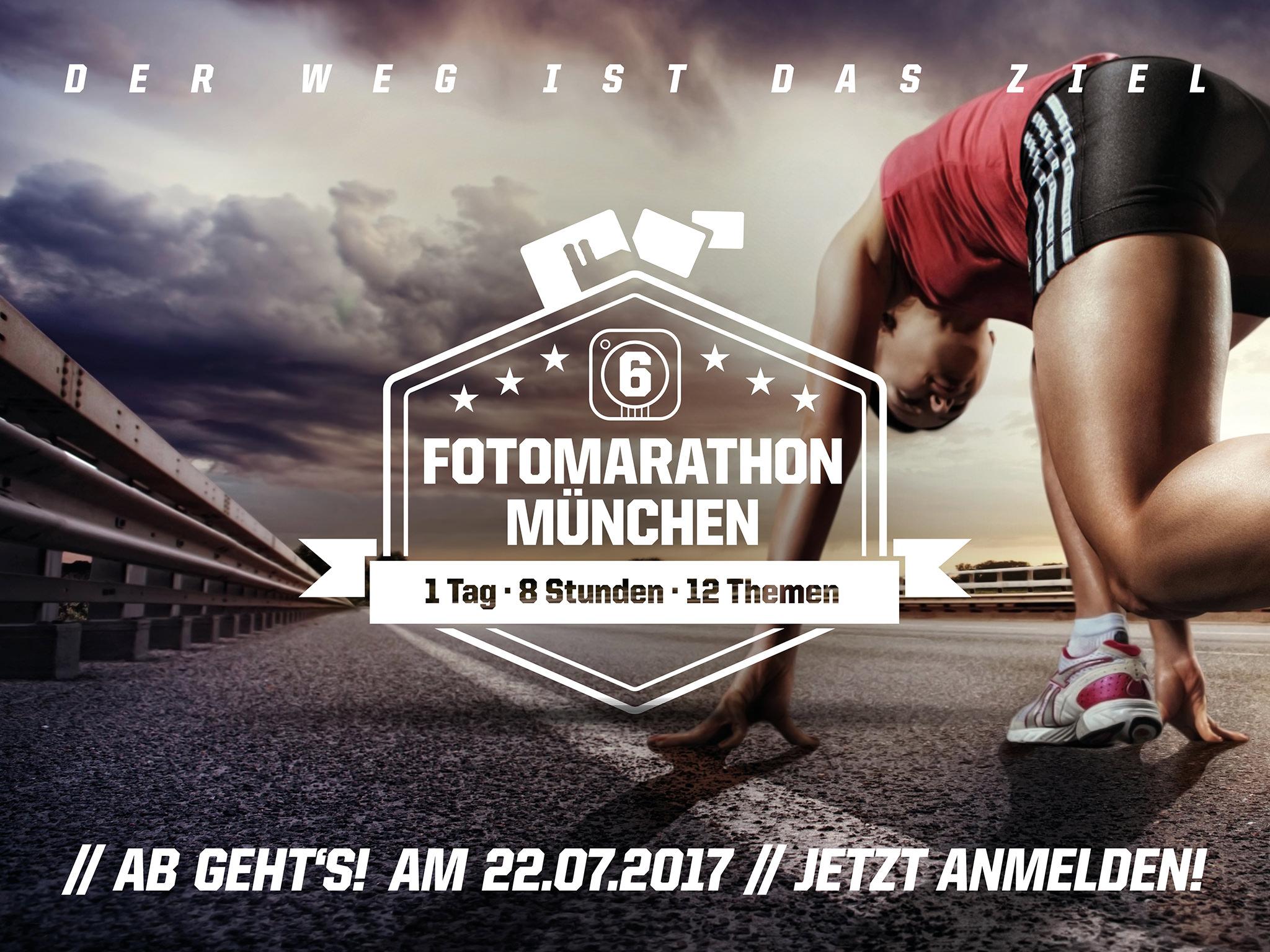Fotomarathon München 2017 – Anmeldung eröffnet